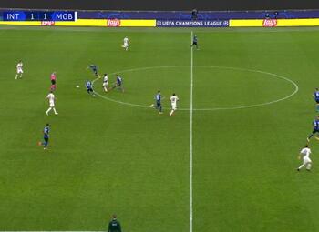 Goal: Inter Milan 1 - 2 Borussia M'Gladbach 84' Hofmann