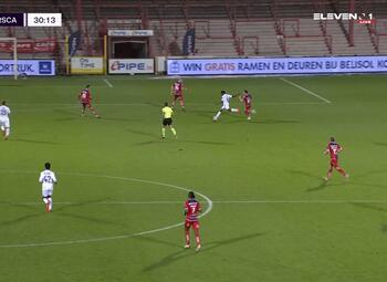 Journée 10 Courtrai - Anderlecht (1-3)