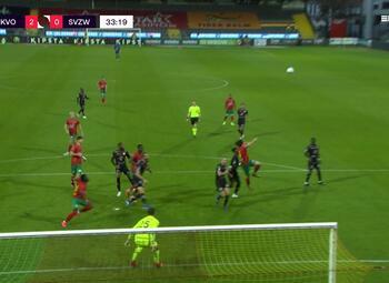 Journeé 10: Ostende - SV Zulte Waregem (3-0)