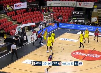 Samenvatting Filou Oostende - Spirou Basket Charleroi