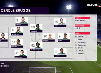 Speeldag 13 W.-Beveren - Cercle Brugge (0-2)