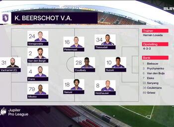 Speeldag 14 KV Mechelen - Beerschot (2-3)