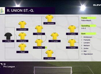 Speeldag 12 RFC Seraing - Union Saint Gilloise (1-0)