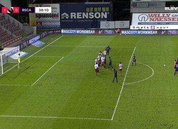 Speeldag 15 SV Zulte Waregem - RSC Anderlecht (2-2)