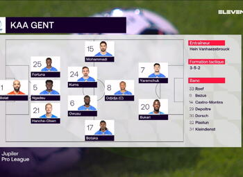 Speeldag 15 KV Oostende - KAA Gent (2-1)