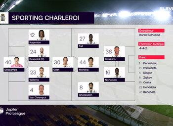 Speeldag 16 STVV - Sporting Charleroi (1-2)