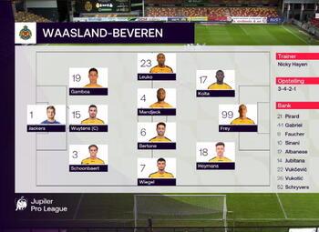 Speeldag 16 KV Mechelen - Waasland-B. (2-3)