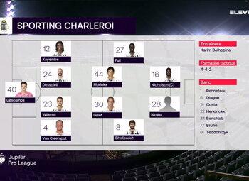 Speeldag 18 Cercle Brugge - Sporting Charleroi (3-4)