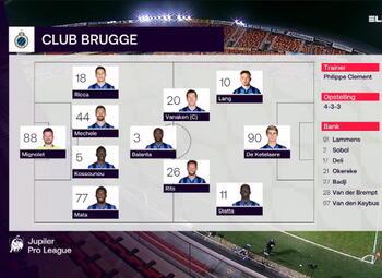 Speeldag 18 KV Mechelen - Club Brugge (0-3)
