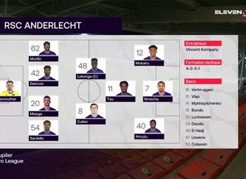 Speeldag 17 Sporting Charleroi - RSC Anderlecht (1-0)