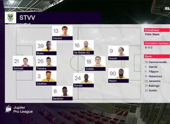 Speeldag 17 SV Zulte Waregem - STVV (0-2)