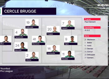 Speeldag 19 SV Zulte Waregem - Cercle Brugge (1-0)