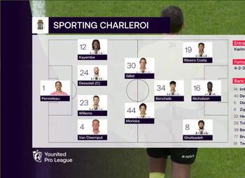 Speeldag 19 Royal Antwerp - Sporting Charleroi (2-1)