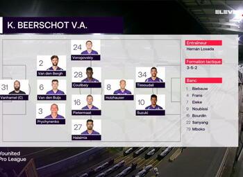 Speeldag 19 RSC Anderlecht - Beerschot (2-0)