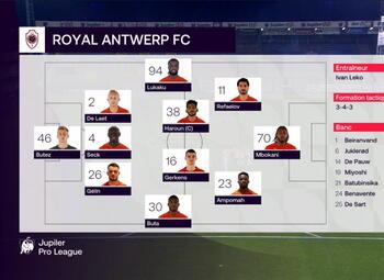 Speeldag 17 Waasland-B. - Royal Antwerp (0-3)