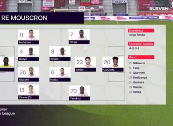 Speeldag 30 SV Zulte Waregem - Moeskroen (1-0)