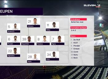 Speeldag 30 Cercle Brugge - Eupen (1-2)