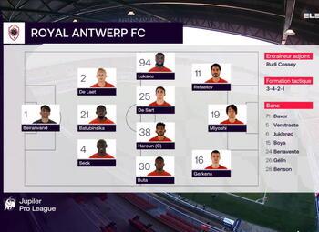 Speeldag 30 KV Mechelen - Royal Antwerp (3-0)