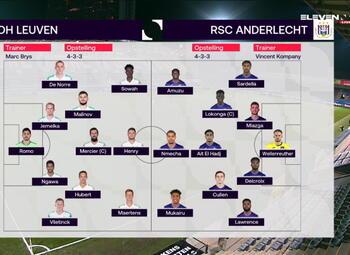 Speeldag 30 OH Leuven - RSC Anderlecht (1-0)