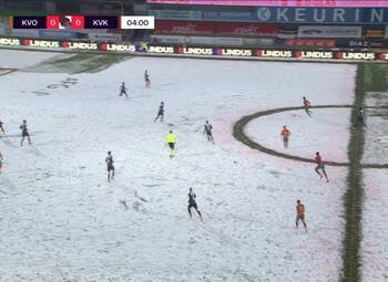 Speeldag 21 KV Oostende - KV Kortrijk (2-1)