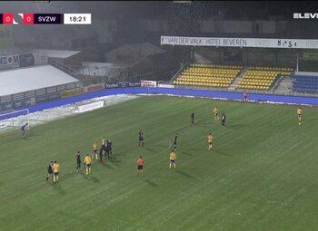 Speeldag 21 Waasland-Beveren - SV Zulte Waregem (1-5)