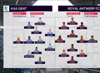 Speeldag 20 KAA Gent - Royal Antwerp (0-1)