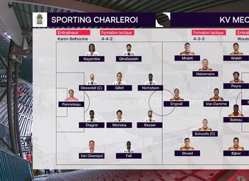 Speeldag 20 Sporting Charleroi - KV Mechelen (0-1)