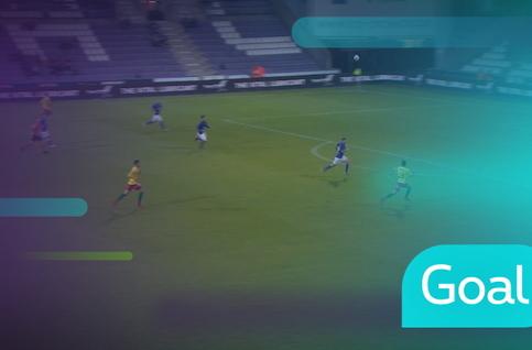 Goal: Beerschot Wilrijk 0 - 2 Ostende: 64', Vanlerberghe