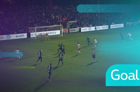 Goal: Courtrai 4 - 0 Cercle Bruges: 89', D'Haene