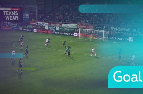 Goal: Courtrai 1 - 0 Cercle Bruges: 18', Ezekiel