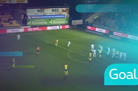 Goal: Waasland-Beveren 1 - 1 Cercle Bruges: 73', Vanzo