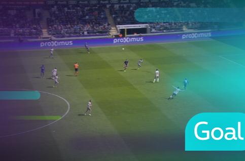 Goal: Anderlecht 1 - 0 Standard: 37', Verschaeren