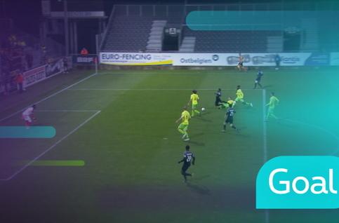 Penalty: Eupen 2 - 1 Ostende: 64', Toyokawa