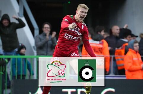SV Zulte Waregem - Cercle Bruges