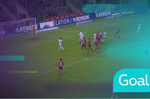 Goal: SV Zulte Waregem 6 - 2 Cercle Bruges: 84', De Belder