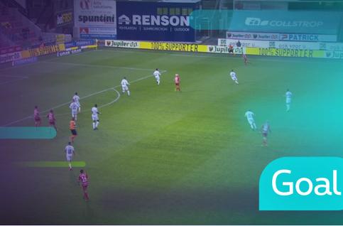 Goal: SV Zulte Waregem 1 - 0 Cercle Bruges: 11', Harbaoui