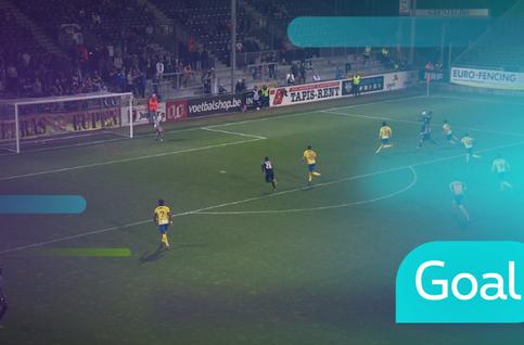 Goal: Eupen 1 - 1 Saint-Trond: 54', Castro-Montes