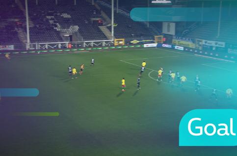 Goal: Charleroi 1 - 2 Ostende: 57', Coopman