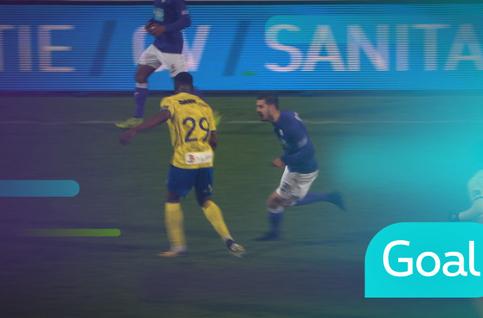 Goal: Beerschot Wilrijk 1 - 1 Saint-Trond: 29', Kinoshita