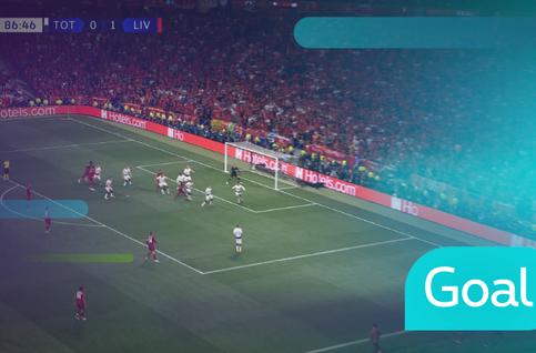 Goal: Tottenham Hotspur 0 - 2 Liverpool: 87', Origi