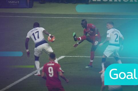 Penalty: Tottenham Hotspur 0 - 1 Liverpool: 2', Salah