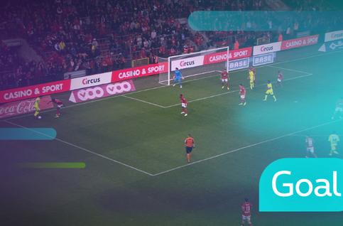 Goal: Standard 2 - 3 KAA Gent: 90 + 4', David