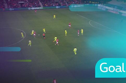 Goal: Standard 2 - 2 KAA Gent: 80', Lestienne