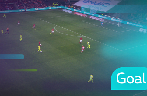 Goal: Standard 0 - 1 KAA Gent: 13', Dejaegere