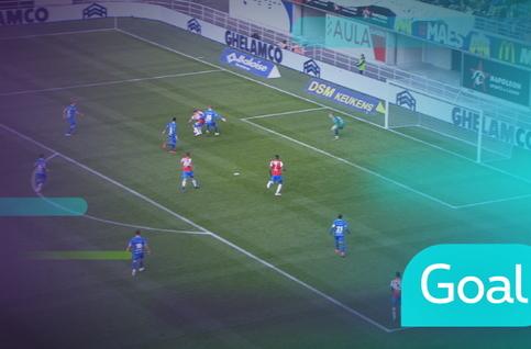 Goal: KAA Gent 0 - 1 Club Brugge: 34', Rits