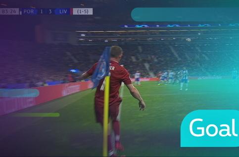 Goal: FC Porto 1 - 4 Liverpool, 84' van Dijk