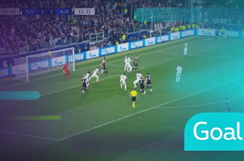 Goal: Juventus 1 - 2 AFC Ajax: 67', De Ligt