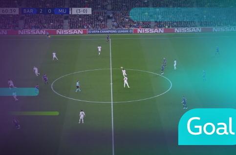 Goal: FC Barcelona 3 - 0 Manchester United: 61', Coutinho