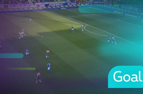 Goal: KRC Genk 1 - 0 Club Brugge, 13' Trossard