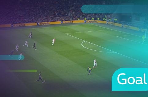 Goal: AFC Ajax 0 - 1 Juventus, 45' Ronaldo